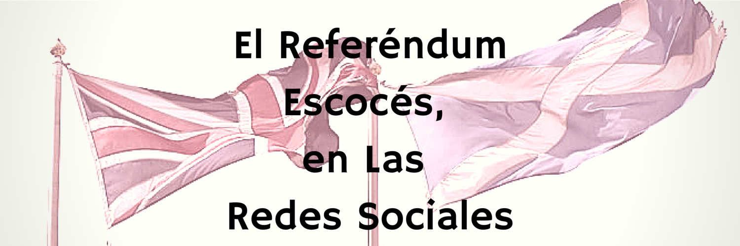 referéndum escocés, redes sociales, marketing online